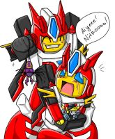Ah, sibling love... xD by Autobot-Windracer