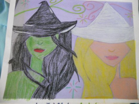 Elphaba Galinda Best friends by Harleyquinn4850