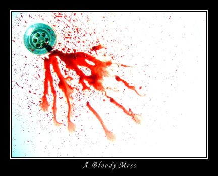 A Bloody Mess by OutlawJapan