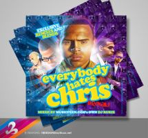 Chris Brown Mixtape Cover by AnotherBcreation