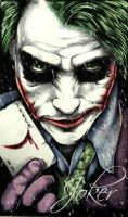 WHY SO SERIOUS? by jokercrazy