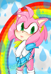 Amy Rose by KawaiiSketchChan