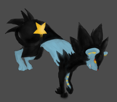 Luxray by Gale-Okami