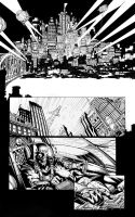 Batman Dark Knight issue 1 sequentials by Blasterkid