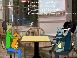 Lunch to a fast food by RMPSI