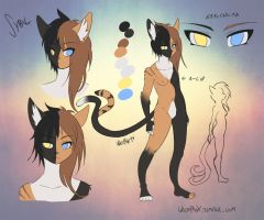 Sybil - chimera cat concept by WhitePhox