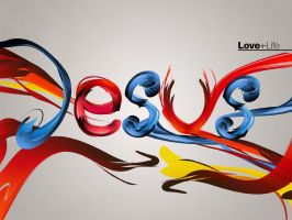 Jesus love+life 5 - Wallpaper by mostpato