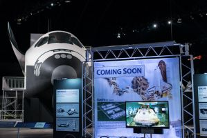 Space Shuttle Trainer Exhibit at the USAF Museum by PLutonius
