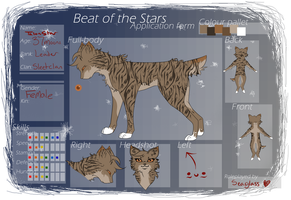 .::Beat of the Stars::. Talonstar by o0BrokenSeaGlass0o