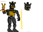 Funtime fredbear by Fandomtrash198787