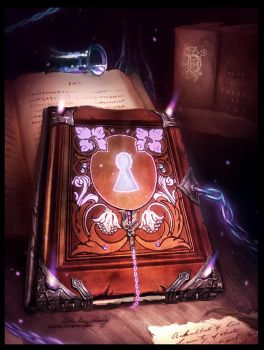 Gift: Magic Book by Zolaida