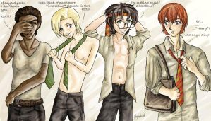 The_Many_Uses_Of_A_Tie by HarryAndDraco