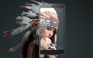 Yummy Indian Cell Phone Desktop by TsauTion