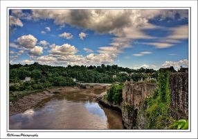 View over Chepstow by CharmingPhotography