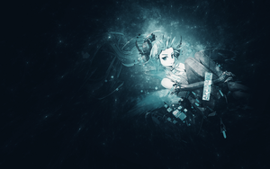 [Background] Hatsune Miku Append by Mirarulz