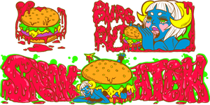 JSR:HD contest entry: burger time by meekstape