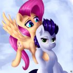 Fluttershy and Soarin by OhieKhe