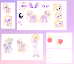 Sparkle Dream Ref Sheet for PastelWishPonyArtist by SugarMoonPonyArtist