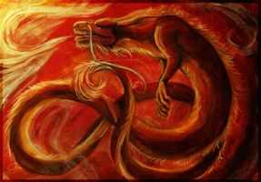 Dragon of Fire by Lyswen