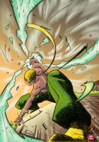 Iron Fist 2 colors by Absalom7