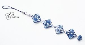 Charm for phone 2 by OrionaJewelry