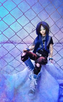 Deep Blue by AidaOtaku-BJD