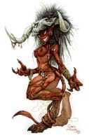 Horns of the Succubus by PlanetDarkOne