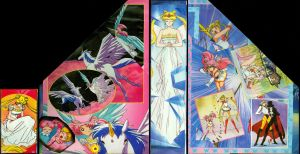 SailorMoon paper stand by NitroFieja