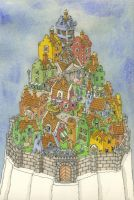 walled town, color by MattiasA