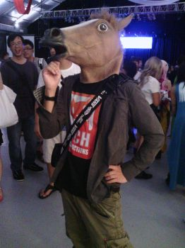 Neighing Comical Horse at Cosfest. by NCH85