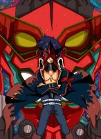 Simon and Gurren Lagann by mysteriousdbzgt