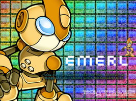 Monthly Wallpaper: Emerl by fistsh