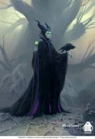 Maleficent Costume Concept by michaelkutsche
