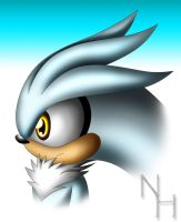 Silver the hedgehog by SonARTic