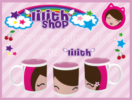 lilith's pink mug by lilithStyle