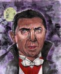 Dracula - Bela Lugosi - Universal Monsters #1 by smjblessing