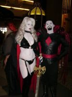 Lady Death and Mr. Sinister by LennyJava