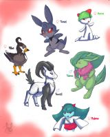Pokemon Altair-Team Update by Inkblot-Rabbit