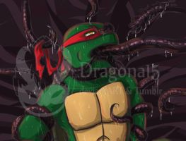 Tmnt Out of Control - TentaRaph by Dragona15