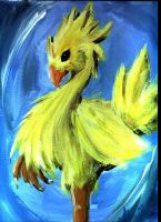 Chocobo by awisha-teh-ninja