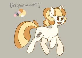 TIN (PONY) REF by poibles