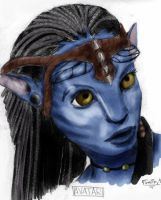 AVATAR Neytiri by 9Timothy9