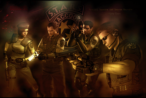 S.T.A.R.S. Alpha Team by RedDevil00