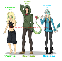 Meet the Gijinkas! by Markiehh