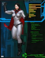 O52 Files - Soviet Superwoman by shotgung0d