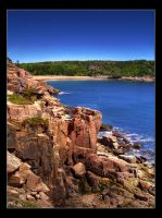 Acadia - Sand Beach by AnonymousPhotography