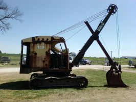 Bucyrus Erie digger by bwtractors
