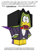 Cubeecraft - Count Duckula by CyberDrone