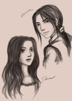 daine numair sketch by alanna11