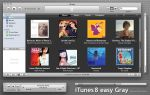 iTunes8 easy Gray by Gpopper